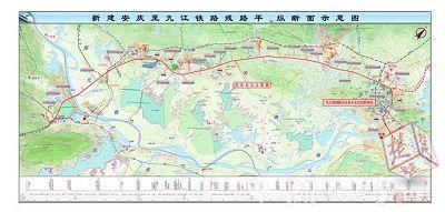安九高铁湖北段今开工 湖北省沿江东西快线将打通