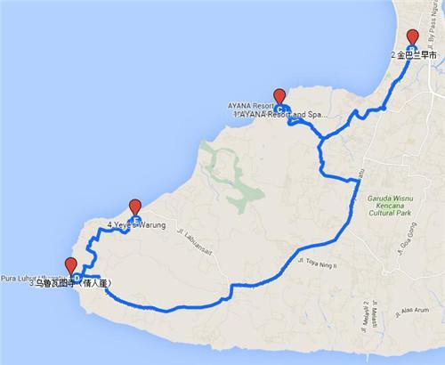 带你去天堂 巴厘岛6日游攻略