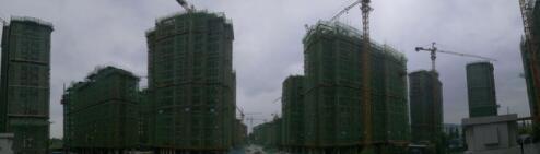 庞公低密度楼盘水云墅7月最新工程进度
