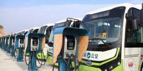阳新县新能源城市公交车正式启用 告别燃油时代
