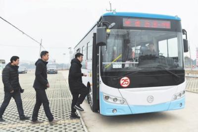 25路公交正式上线运营 方便西河沿线居民出行