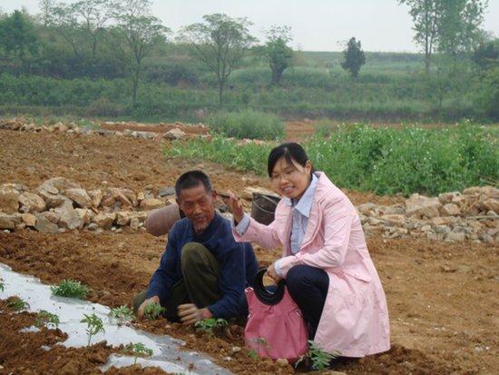 2011湖北省青学联大会代表风采——汪丽娜
