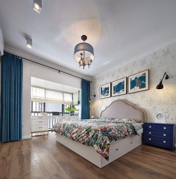 125m2现代美式 实用舒适的三房!