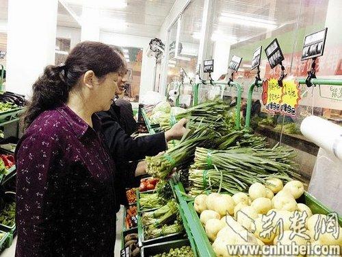 武汉蔬菜直营店亮相 菜价低于市场10%左右(图)