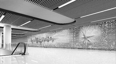 武汉地铁2号线车站装修方案亮相 市民可提建议