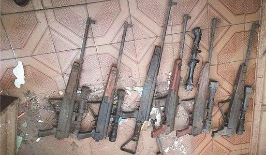 荆门一居民主动上缴7支气枪 消除安全隐患