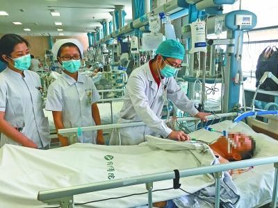 """广州捐赠者的心脏 """"带不动""""武汉患者身体"""