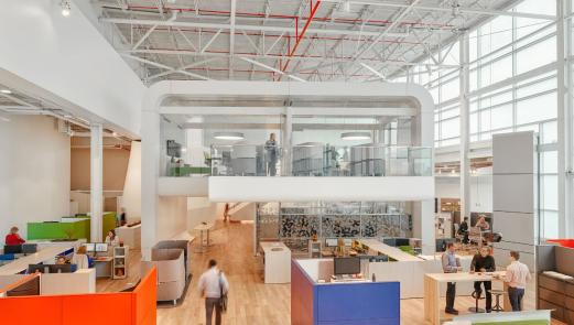 """""""办公室""""概念升级 Steelcase武汉经销商展厅开幕"""