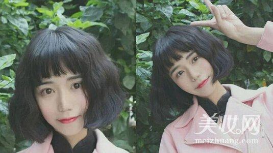 女生蛋卷头发型 俏皮可爱超吸睛