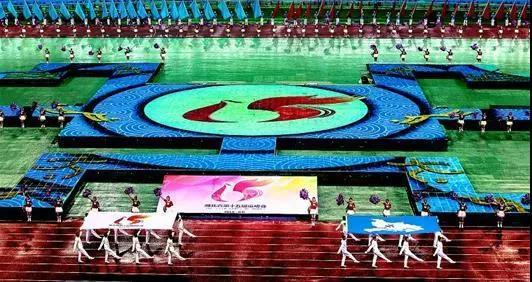 湖北省第十五届运动会在黄石举行 蒋超良宣布开幕