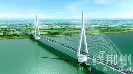 洪湖嘉鱼长江大桥建设逾半 荆州将有5座跨江大桥