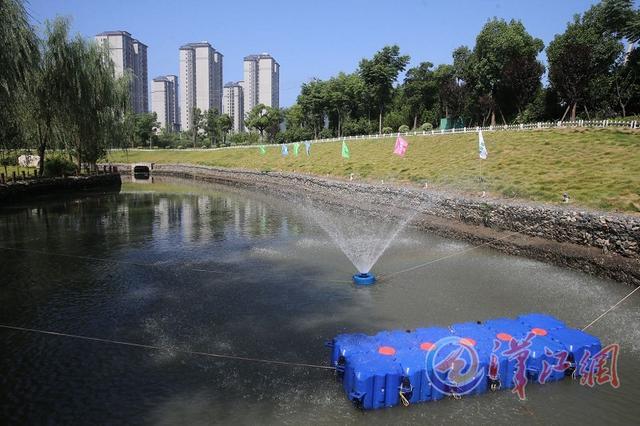 南渠河道安装治污神器 设备总价值达8000万