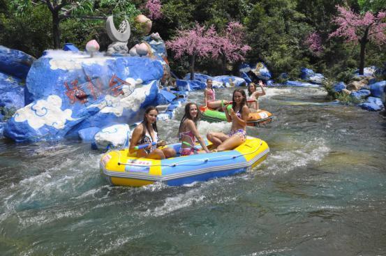 夏天玩的就是湿身 西游记漂流开启夏季激情撒欢模式