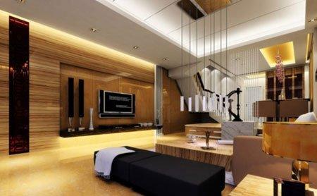客厅吊顶装修效果图 颇具时尚典范