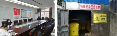 """潜江生态环境局:强化医疗废物处置 筑牢疫线""""环保墙"""""""