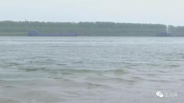 荆州一男子独自在江中游泳出意外 幸被及时救起