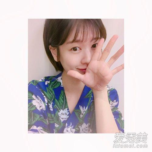 韩国潮流短发 显脸小又萌炸了!