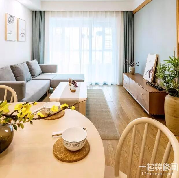 上海90㎡日式暖屋,封闭式阳台令人惊艳