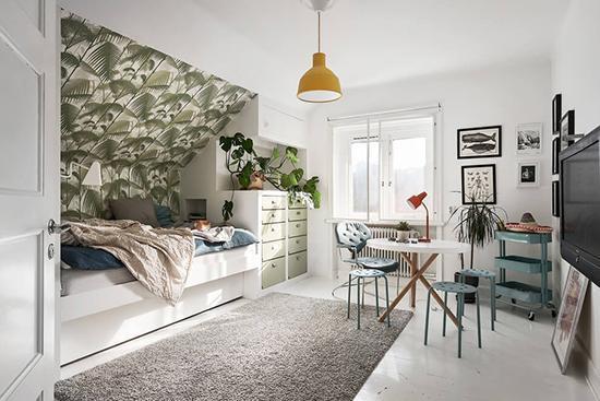 瑞典阁楼公寓 高格调的艺术生活