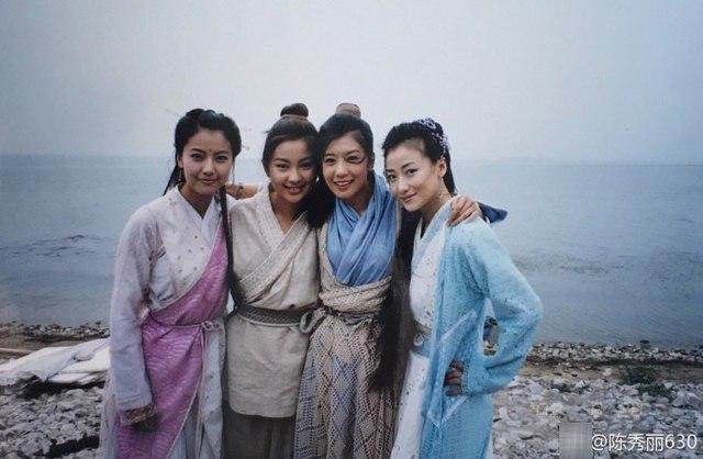 陈秀丽晒苏有朋版《倚天》旧照 掀起网友的回忆潮