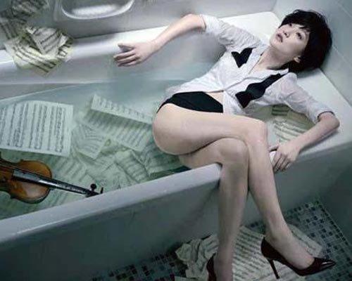 明星浴室那些事 高圆圆公共澡堂洗澡遭围观 1 8图片