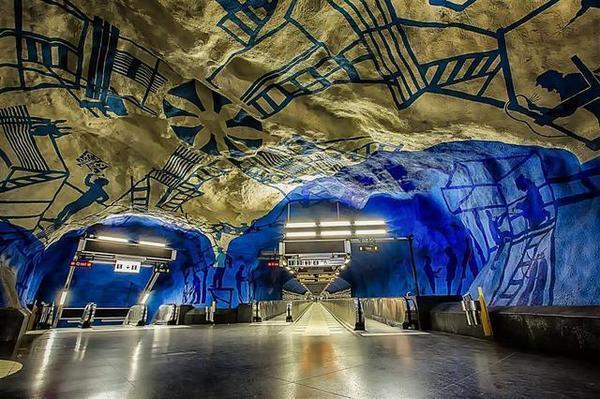 世界上最不称职的地铁站 可它却以别名傲然于世界