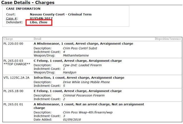 周立波纽约出庭被检控5项罪名 最高刑期可达21年