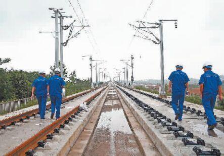 汉孝城铁全线贯通年底通车 去天河机场更便利