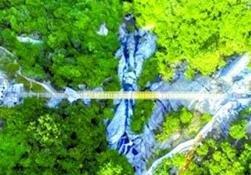 刺激!湖北首座跨山玻璃天桥将开放