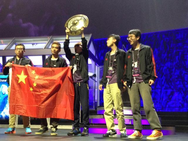 newbee获dota2第四届国际邀请赛(简称为ti4)的冠军