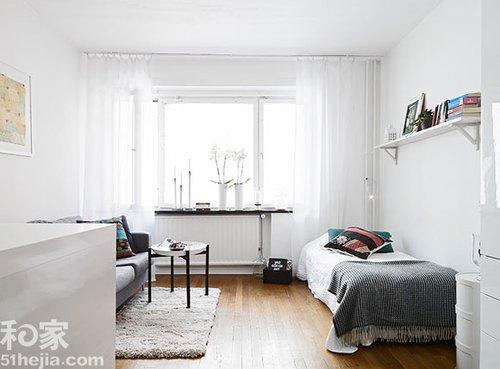 20平米一居室装修