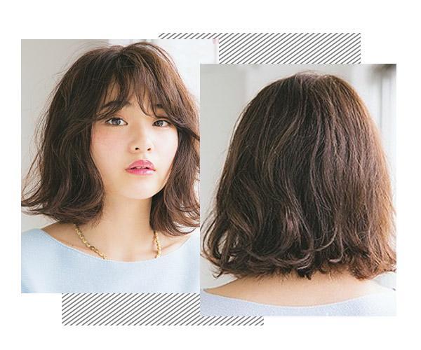 短发烫发小卷蓬蓬头_韩式波浪卷小短发 - 随意贴 图片