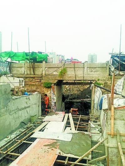 汉口最老古桥保寿桥明年回迁原址进地下室群英东坑小学图片