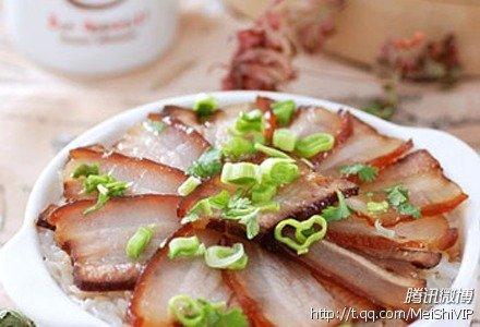 普通的白米饭吃厌了有木有 一起来做腊肉饭