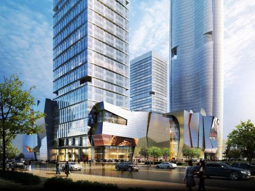 绿地606缤纷城亮相武汉 开创江城商业新奇迹