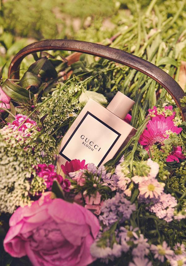 GUCCI Bloom香水大片(图片来源于GUCCI)