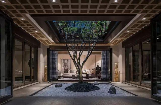 新中式影��k�_唯美新中式 演绎东方意境园林