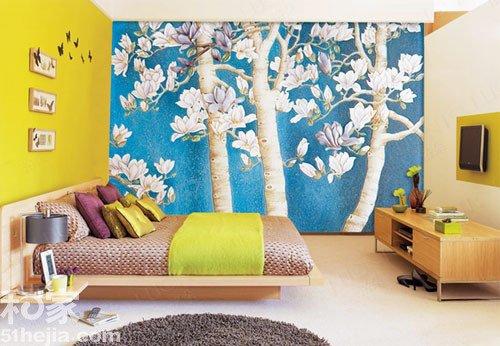 """让你的手绘""""站起来"""" 10款室内墙体彩绘"""