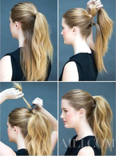 这些发型让你10秒就可以美美的出门