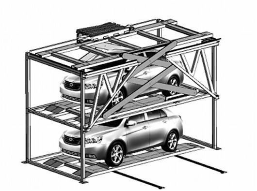 纺大学子新发明巧解停车难 升降车位获国家专利图片