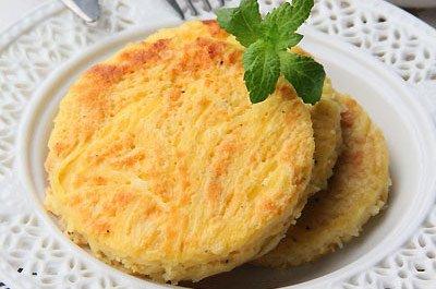 ——土豆鸡蛋饼
