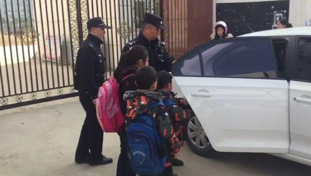 男子捅伤他人后被刑拘 民警帮其托管三个孩子
