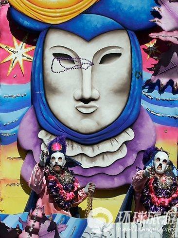 狂欢 各国华丽面具节