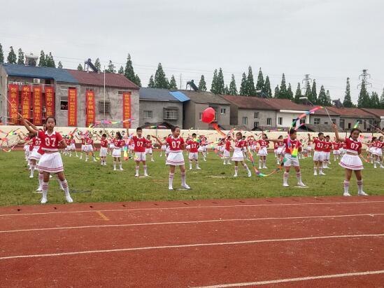 潜江市第十九届学生运动会在张金中学开幕