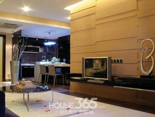 客厅电视墙装修效果图 装扮好风水家居