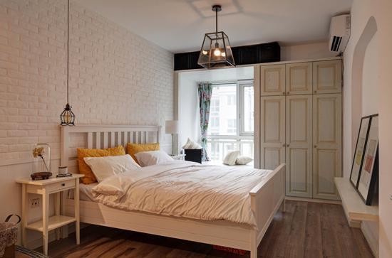 原木风清新家居 92平北欧风格小户型图片