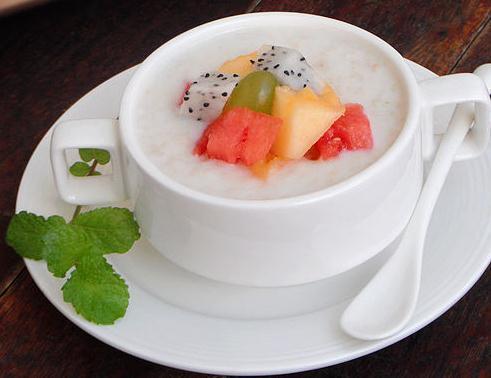 水果养生粥,简简单单就能喝出健康身体!