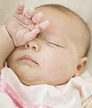 从眼屎分泌看宝宝的健康状况!