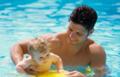 细数婴儿游泳的好处 有助发育