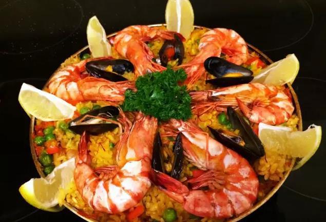 小厨上菜  西班牙海鲜饭 by 张雪琪